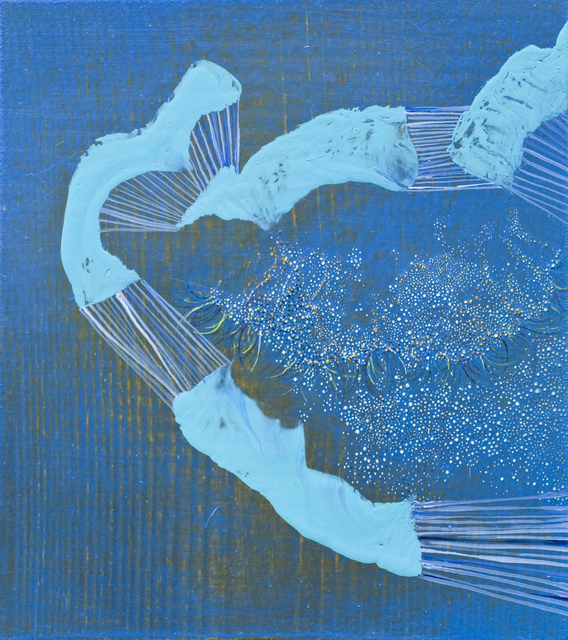 Alyse Rosner, 'Pull (Blue)', 2014, Rick Wester Fine Art
