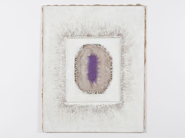 , 'Purple and White,' 1971, Patrick Parrish Gallery