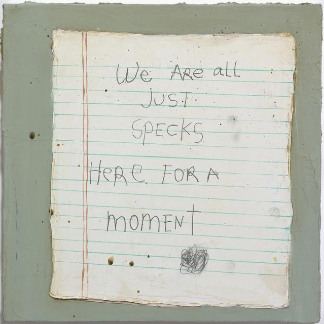 , 'Specks,' 2009, Jane Lombard Gallery