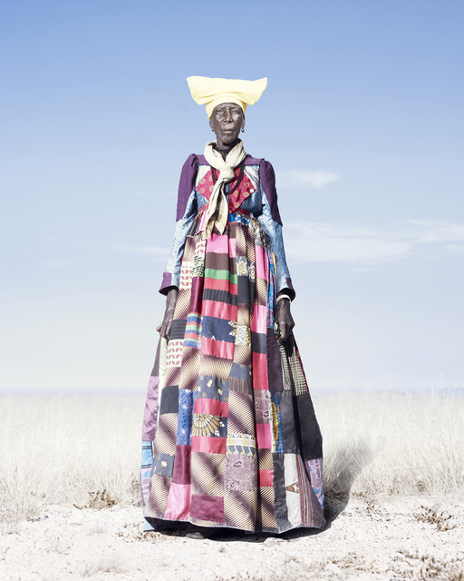 , 'Herero Woman in Patchwork Dress,' 2012, KLOMPCHING GALLERY