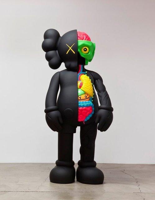 KAWS, 'Four Foot Dissected Companion (Black)', 2009, Carmichael Gallery