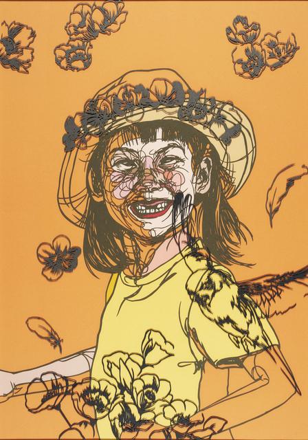 , 'Flower girl,' 2016, Micheko Galerie