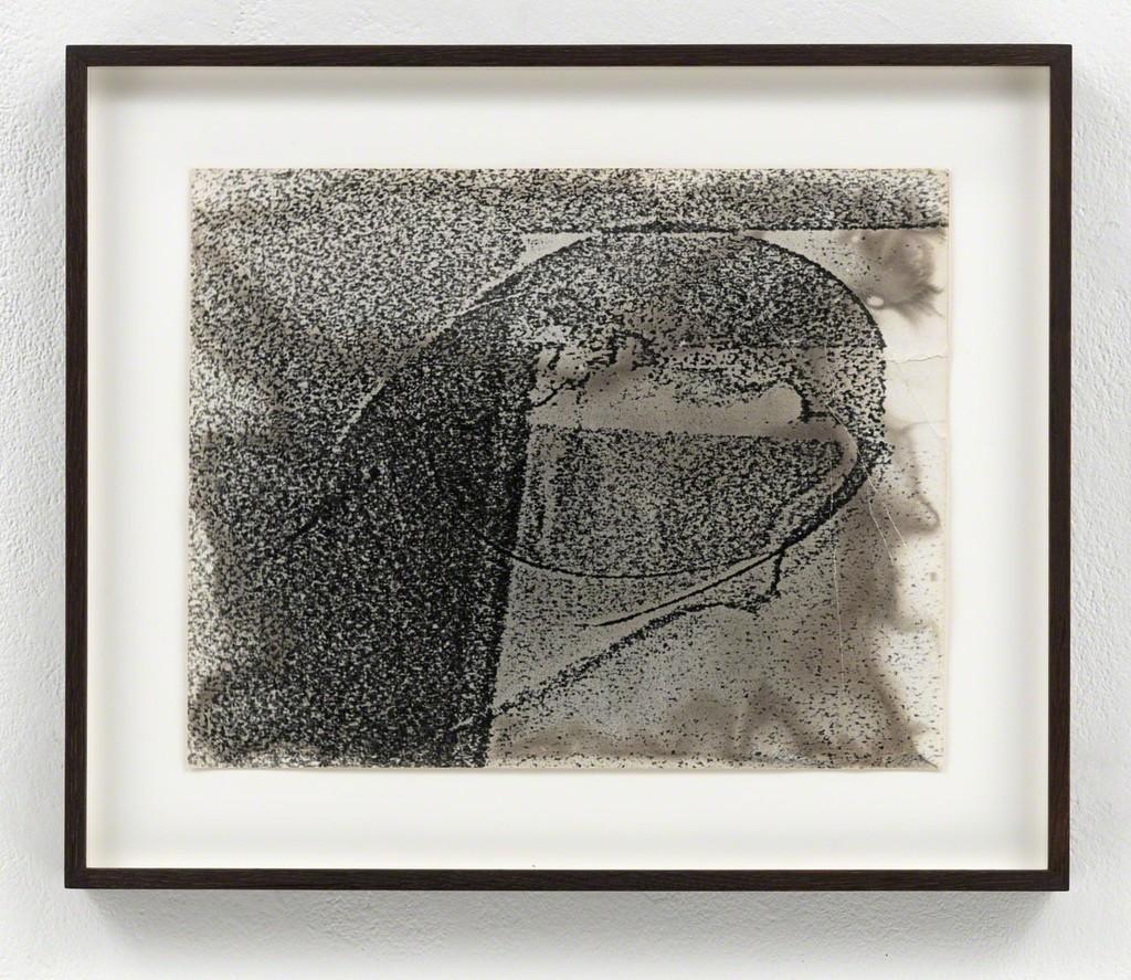 Sigmar Polke Ohne Titel, 1986 Gelatin silver print Unique 24 x 30 cm / 9 1/2 x 11 3/4 in Framed: 33.5 x 40 x 3.5 cm