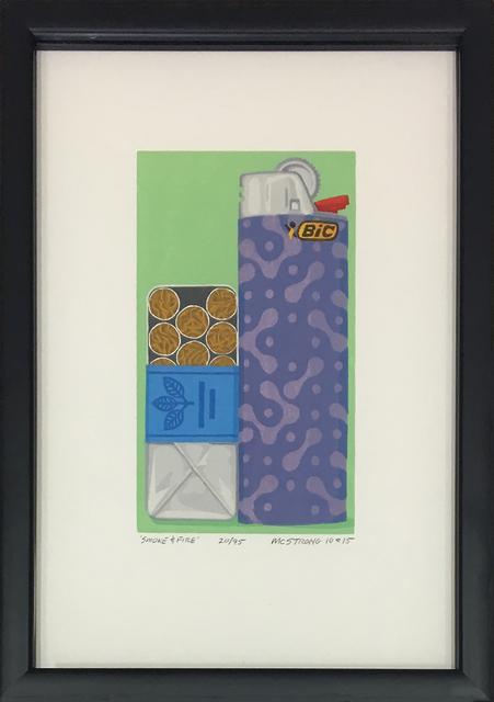 , 'Smoke & Fire,' 2016, 203 Fine Art