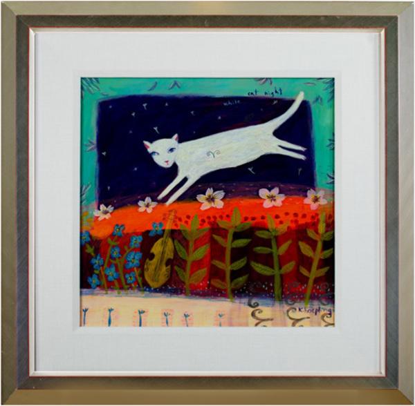 , 'White Cat Night,' 2004, David Barnett Gallery