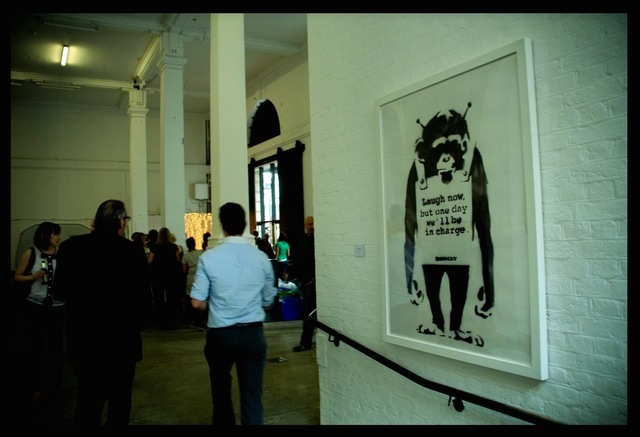 """Banksy, '""""Laugh Now.....""""', 2001, MultiplesInc Projects"""