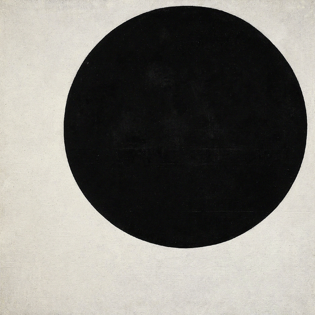 Kasimir Severinovich Malevich, 'Black Circle', 1923, Erich Lessing Culture and Fine Arts Archive