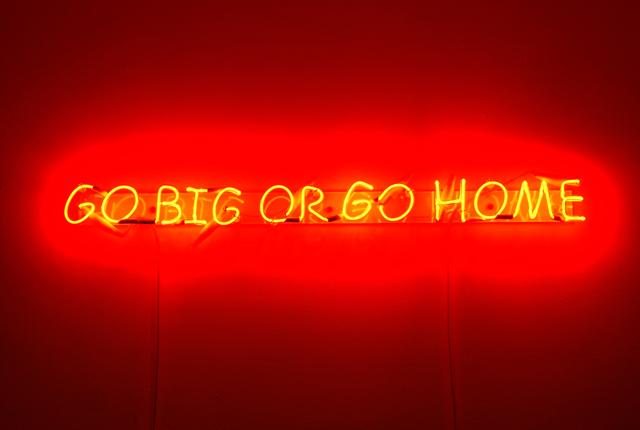 , 'Go Big Or Go Home ,' 2009, Carpenters Workshop Gallery