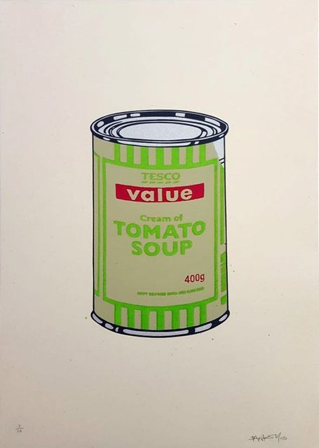, 'SOUP CAN (GREEN AND RED),' , Gormleys Fine Art