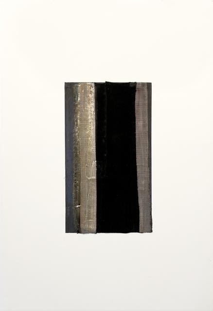 , 'White Verticals,' 2001, Newzones
