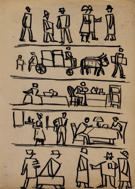 , 'Viñetas de New York,' , Galería de las Misiones