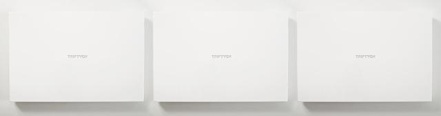 , 'Rant#Triptych,' 2015, Sabrina Amrani