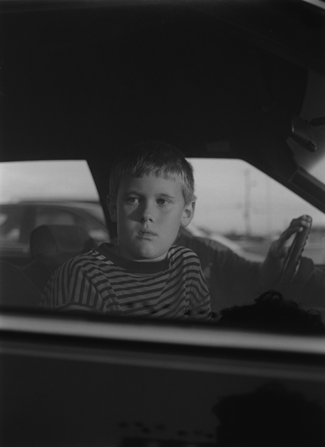 , 'Elberton, GA (boy in car window),' 1995, Yancey Richardson Gallery