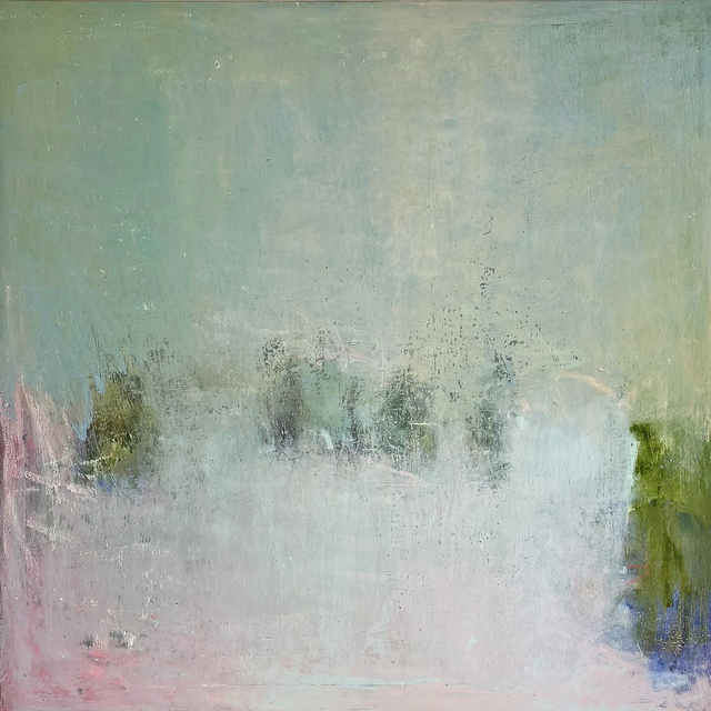 Sandrine Kern, 'Pink Daze', 2019, Painting, Oil and cold wax on canvas, Madelyn Jordon Fine Art
