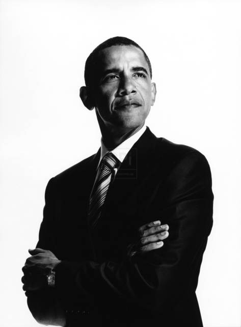 , 'President Obama #2,' 2007, Weiss Katz Gallery