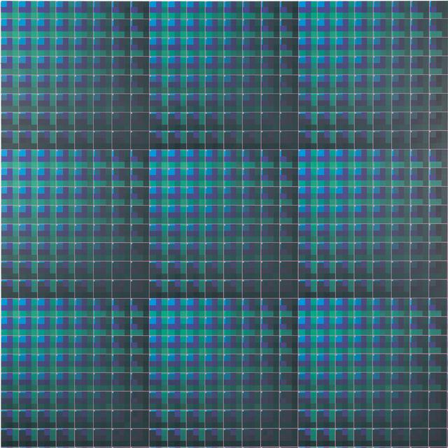 , 'Plaid Plotter,' 2019, McKenzie Fine Art