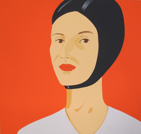 Alex Katz, 'Bathing Cap (Ada)', 2012, Hamilton-Selway Fine Art Gallery Auction