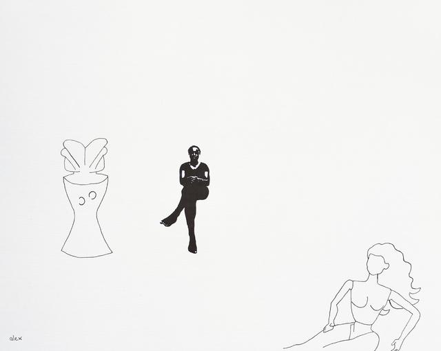 , 'Untitled with Zaramo Figure,' 2017, Circle Art Agency