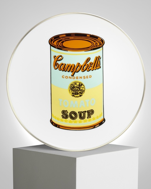 """Andy Warhol, '""""Campbell"""" Porcelain Plate', ca. 2019, Samhart Gallery"""