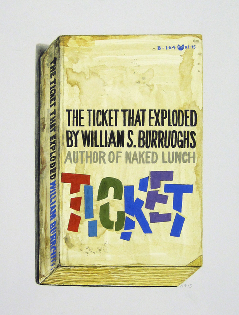, 'The Ticket That Exploded,' 2015, Tibor de Nagy