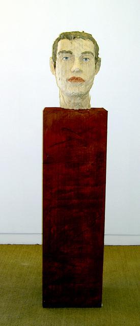 , 'Head of a man,' 2005, Galeria Senda