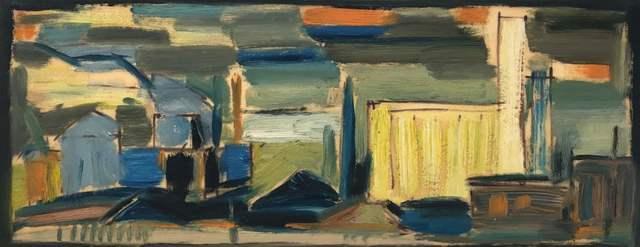 Werner Drewes, 'Industrial Scene', 1953, Richard Norton Gallery