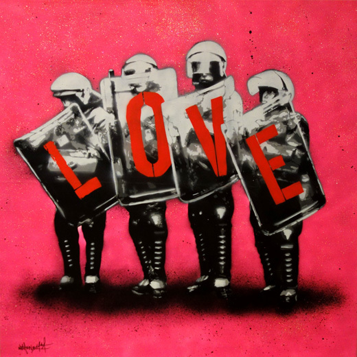 Martin Whatson, 'Love cops', 2014, Gallery TAGBOAT
