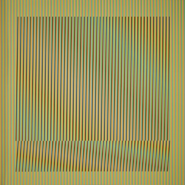 Carlos Cruz-Diez, 'Induction Chromatique a double frequence Orinoco 6', 2018, Polígrafa Obra Gráfica