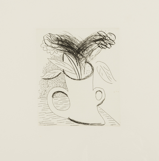 David Hockney, 'Untitled (Flowers in double-handled vase)', 1982-83, RAW Editions Gallery Auction