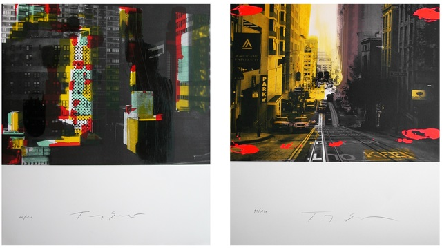 Tony Soulié, 'two original lithographs by Tony Soulié', 2015, Galerie Estampe