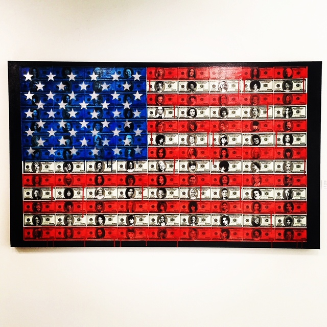 , 'American Woman,' 2017, LoveArt Gallery