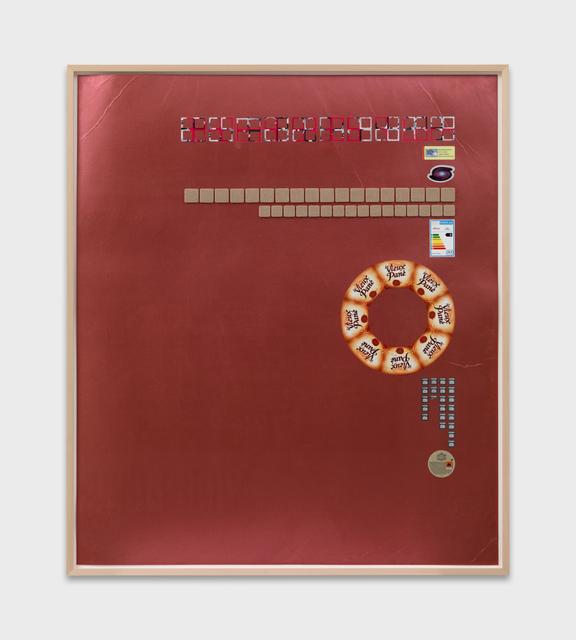 , 'Vieux Pané (Crónicas Pegajosas),' 2015, Ribordy Contemporary
