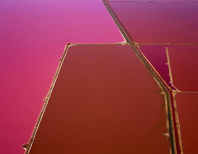 , 'Pink Pools, Hut Lagoon, Western Australia,' 2015, Per van der Horst gallery