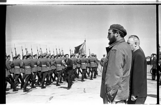 , 'Fidel Castro. Kyiv, Ukraine. 1963,' 1963, Izolyatsia