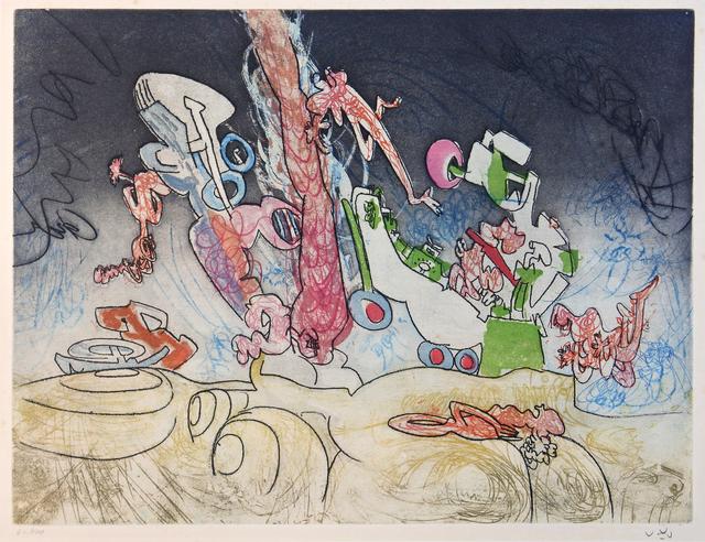 , 'Les Oh! Tomobiles, plate 8,' 1972, Hans den Hollander Prints
