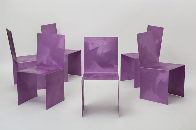 , 'Set of six dining chairs,' ca. 1969, Magen H Gallery