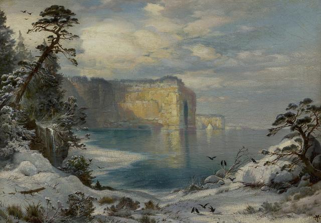 , 'Pictured Rocks, Lake Superior,' ca. 1871, Debra Force Fine Art