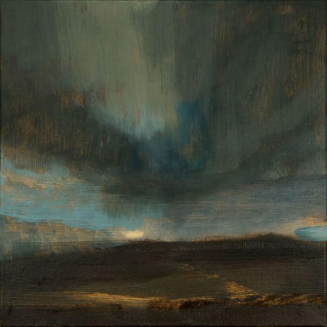 , 'Winter Landscape-Sunset III,' 2016, Mall Galleries