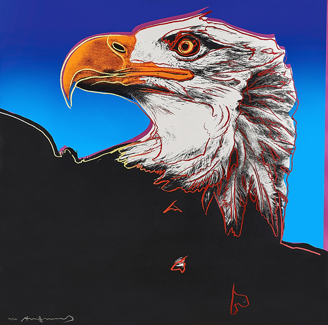 Andy Warhol, 'Bald Eagle from Endangered Species Portfolio', 1983, Rago/Wright