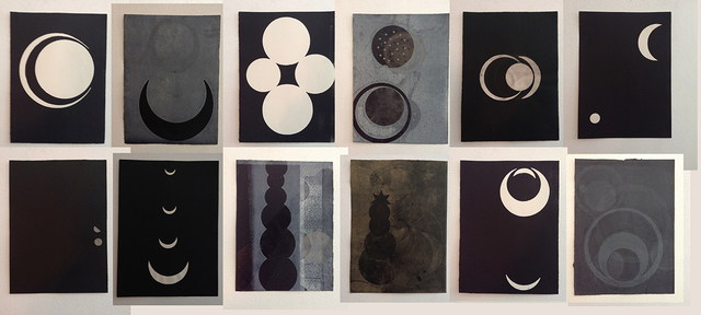 , 'Del libro Negro de la noche IV,' 2013, Alejandra von Hartz Gallery