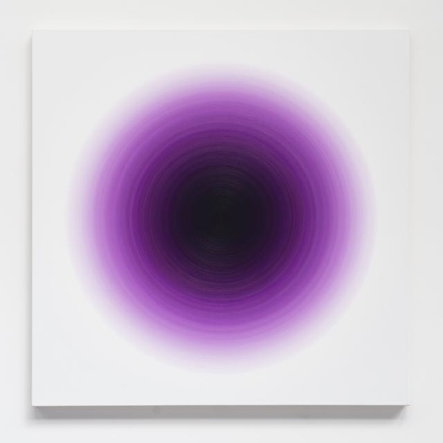 , 'Deep Cobalt Violet Harmonic,' 2016, Galería Hilario Galguera