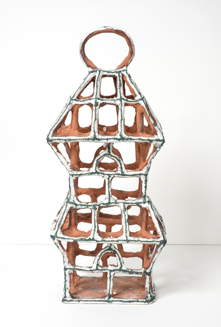 , 'Rectangular White Birdcage with Arches,' 2015, Gavlak