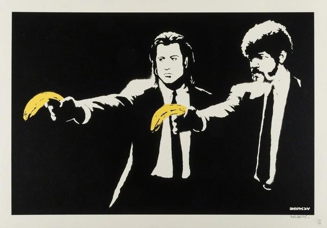 Banksy, 'Pulp Fiction', 2004, Puccio Fine Art