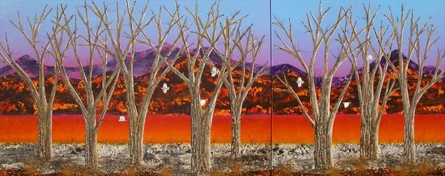 , 'Sentinels - Brachina Creek (Diptych),' 2013-2014, Wentworth Galleries