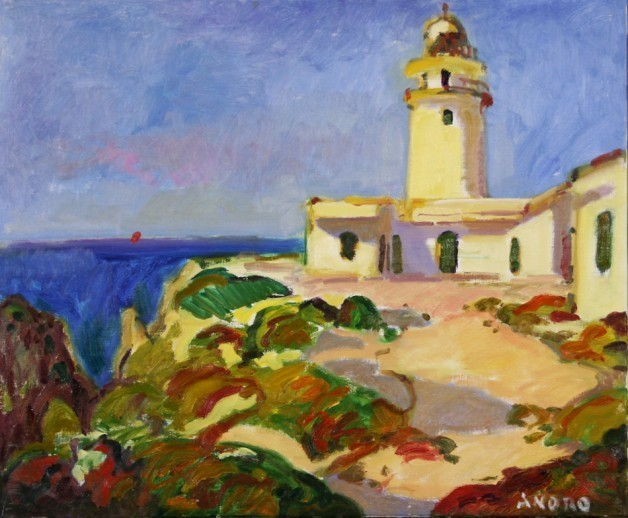, 'Cavalleria Lighthouse, Menorca,' 2016, Caldwell Snyder Gallery