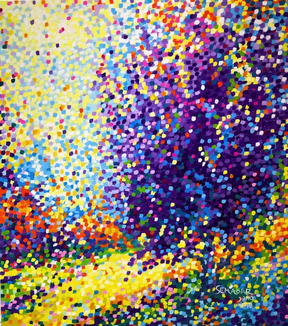 Santina Semadar Panetta, 'Divine', 2018, Painting, Oil, Art Upclose