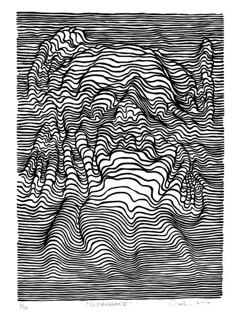 , 'Seismogram VII,' 2014, V1 Gallery