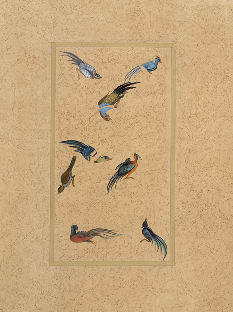 , 'Enchanted Birds,' 2016, Janet Rady Fine Art