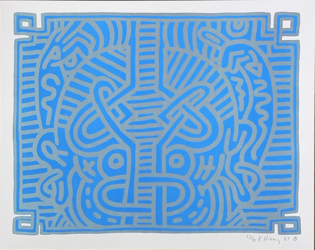 Keith Haring, 'Chocolate Buddha 1', 1989, Hamilton-Selway Fine Art