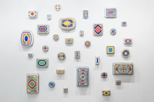 B. Wurtz, 'Pan Paintings', 2016, Maisterravalbuena